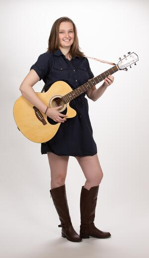 Guitar Lesson Girl Houston TX