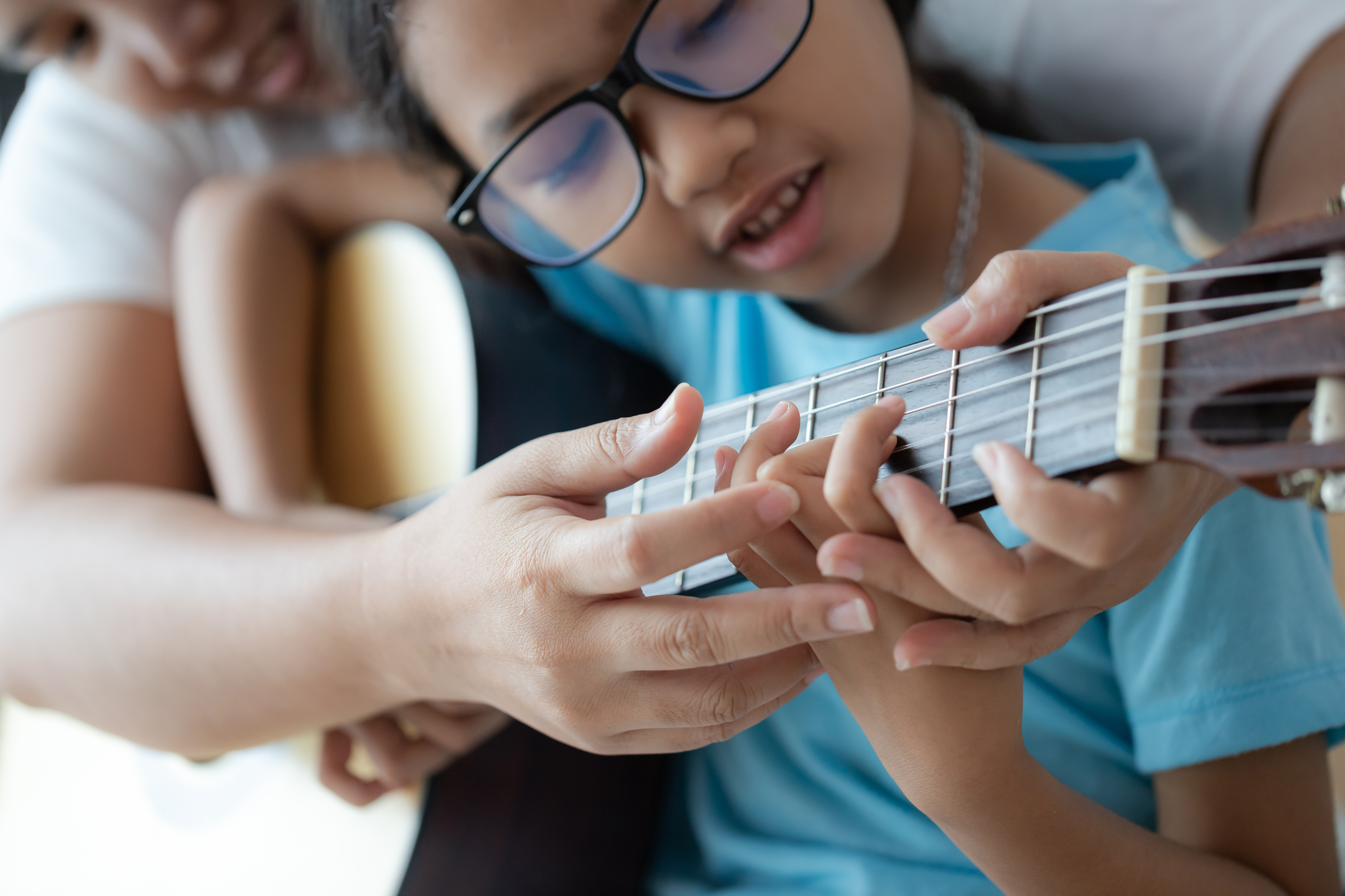 Houston Classical Guitar Lesson Student