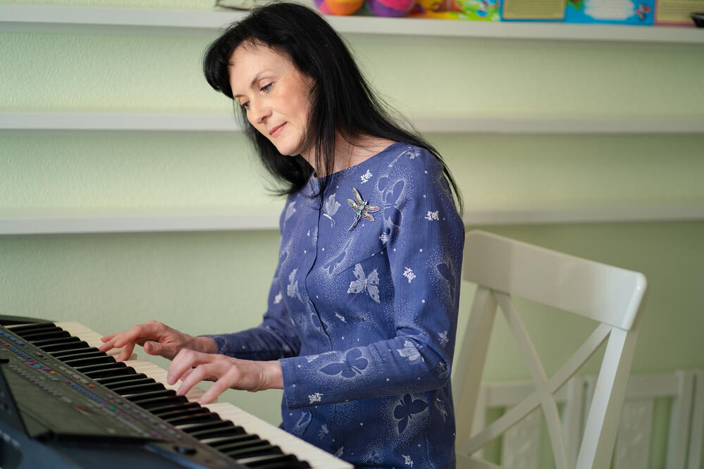 adult piano lesson student houston